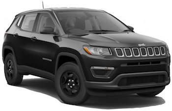 Jeep Compass hyrbil