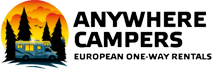 Hyra husbil med Anywhere Campers - Auto Europe