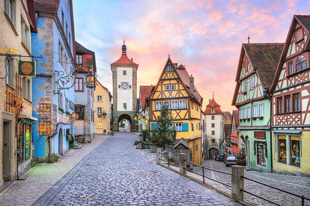 Roadtrip Rothenburg ob der Tauber, Tyskland