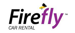 Firefly hyrbil på London Stansted flygplats flygplats